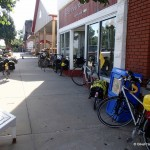 Bicycle Touring Through Colony 2014