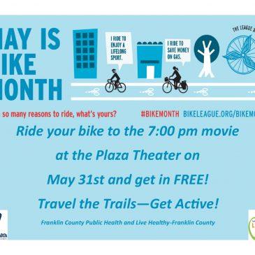 Bike to the Movie Night in Ottawa