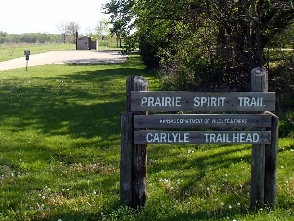 Prairie Spirit Trail Carlyle Trailhead