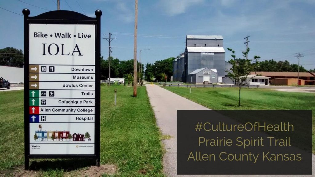 Culture Of Health Prairie Spirit Trail Iola