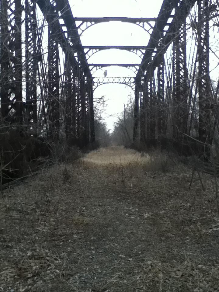 Elm Creek Bridge Before Trail