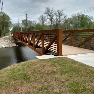 Iola Adds New Trail Connection with King of Trails Bridge