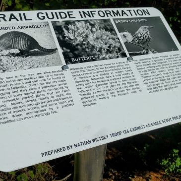 New Informational Signs Along the Prairie Spirit Trail