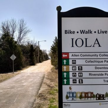 Prairie Spirit Trail Repaired in Iola