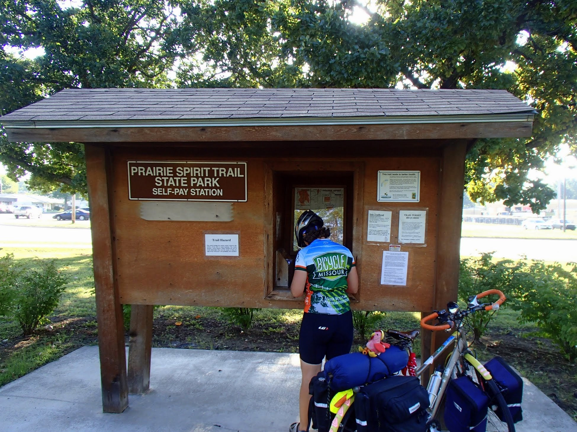 Prairie Spirit Trail Self-Pay Station