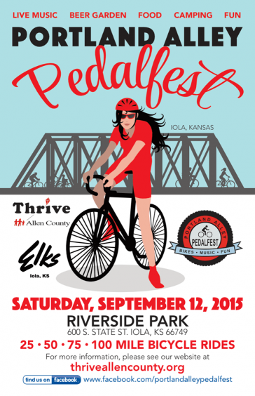 Bicycling Festival Coming To The Prairie Spirit Trail