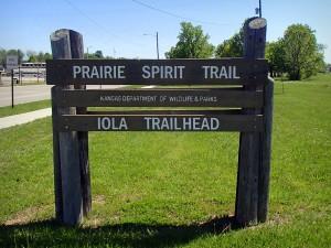 Prairie Spirit Trail Iola Trailhead