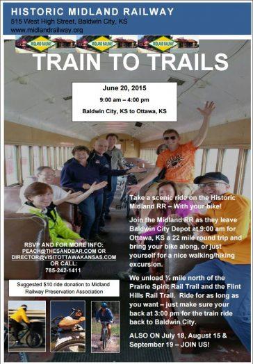 Train to Trails June 20th
