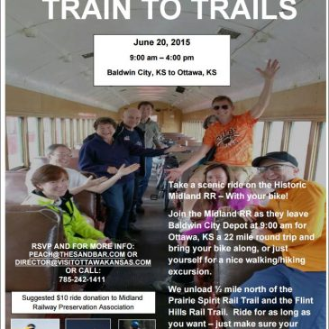 Train to Trails June 20th