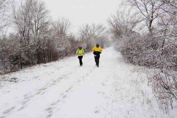 The Prairie Spirit Trail is a Rail-Trail Winter Wonderland